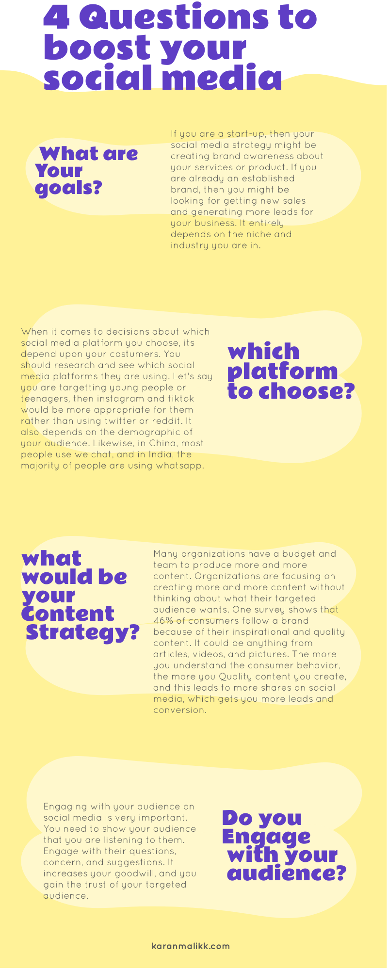 20 Questions to boost your social media strategy   social media ...